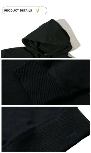 Boku No Hero Academia Kaminari Denki Sweats à capuche Manteau Pull 100/% coton