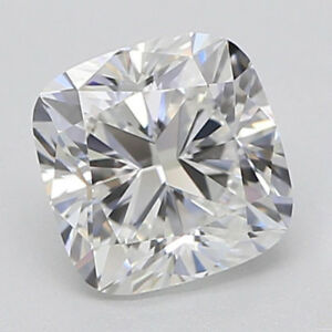 Details About Lovely 9 X 9 Mm 3 Carat Full White Cushion Shape Cut Loose Moissanite 4 Ring