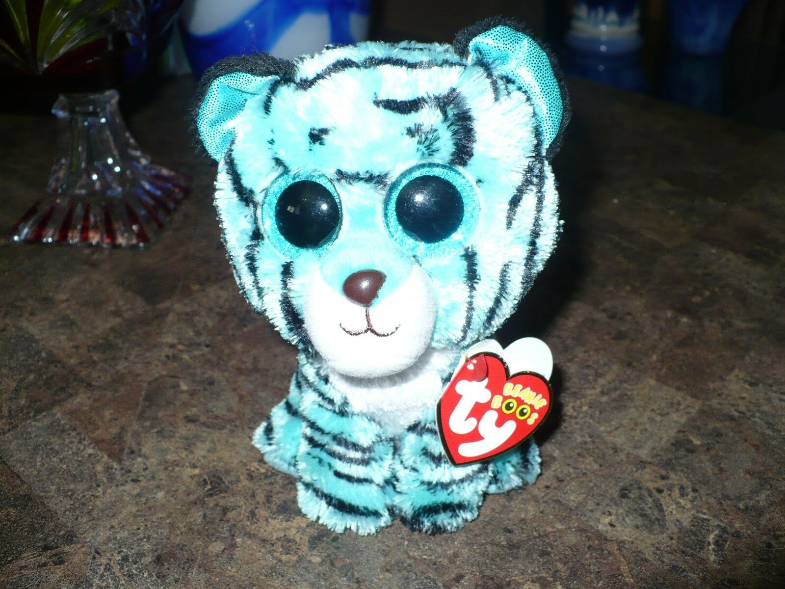 New Justice 6  TY Beanie Boo Tess Tiger