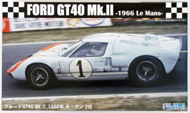 Fujimi Nd   Real Sports Car Series No  Ford Gt Mk Ii  Le Mans