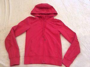 Lululemon 4 Hoodie Jacket Coral Cotton Blend Cozy Pink Yoga   eBay