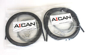 Aican Bike bicycle Shift Derailleur cable housing set kit vs Jagwire Red