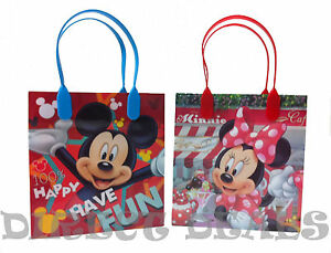 30 pc Disney Minnie Mickey Mouse Party Favors Gift Toy Bags Birthday Candy Treat
