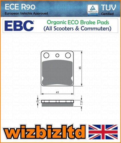 EBC Rear Organic SFA Brake Pads Daelim SL 125 Otello Fi 07-09 SFA54