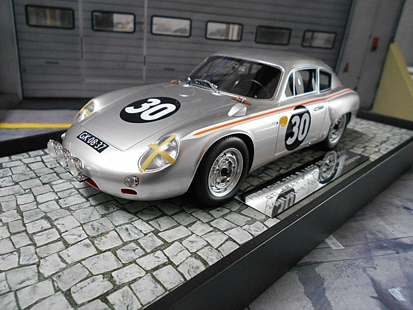 PORSCHE 356 B 1600 GS Carrera GTL Abarth Le Mans 1962  33 PON re Minichamps 1 18