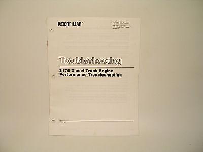 Performance Troubleshooting 3176 Diesel Truck Engine Manual Caterpillar  SENR4249 | eBay