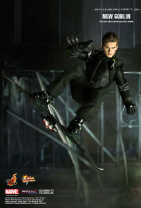 Image is loading U-1-6-HOT-TOYS-MMS151-MARVEL-SPIDER- & U) 1/6 HOT TOYS MMS151 MARVEL SPIDER-MAN 3 NEW GOBLIN HARRY OSBORN ...