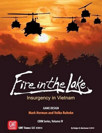 COIN IV: Fire IN the Lake: Insurgency Vietnam, Brettspiel by GMT, New, English
