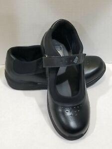 DREW-Mary-Jane-034-ROSE-034-Black-Leather-Shoes-Women-039-s-Sz-7-5-W-Retail-155-00
