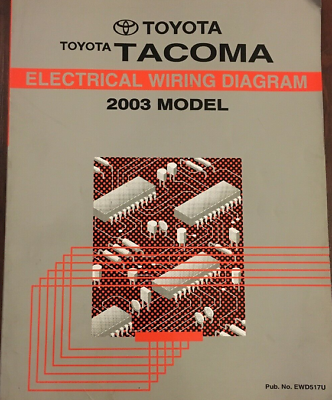 2004 Toyota Tacoma Wiring Diagrams Schematics Layout Factory OEM