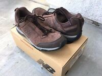 Women's Balance Ww628br Brown Leather Walking Athletic Shoes, 7.5