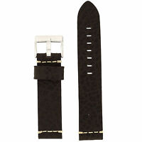 Leather Watch Band 22mm To Fit Panerai Fossil Thick Strap