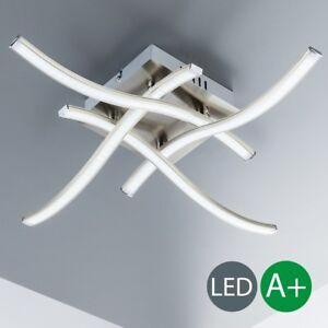 LED Deckenleuchte Design Decken-Lampe Küchen Wohnzimmer-Leuchte ...