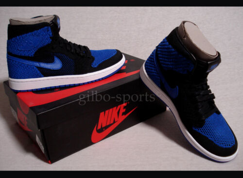 1 37 Noir Bleu 38 Gr Nike 37 5 006 919702 Flyknit 5 38 Air High Jordan Retro Bg q8vEH