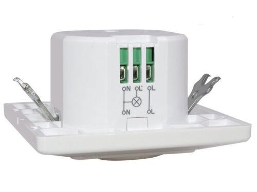 Mikrowellen Bewegungsmelder Bewegungssensor Melder Beleuchtung Sensor 180°