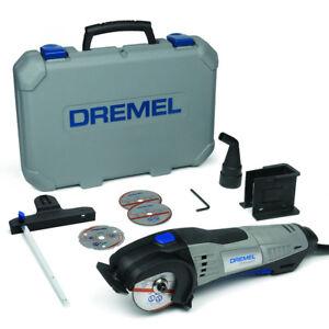 Dremel-Kompaktsaege-DSM20-3-4-inkl-Zubehoer-Koffer-Kreissaege-Saege-17-000U-min