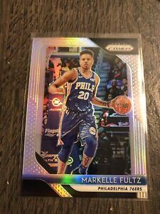 2018-19 MARKELLE FULTZ Panini Prizm SILVER PRIZM 76ers - card #229