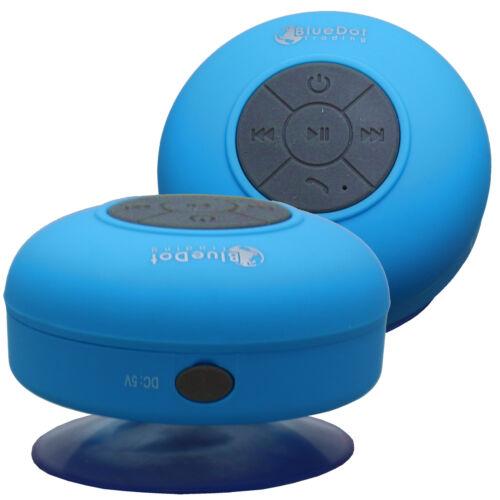 Blue Waterproof Wireless Bluetooth Speaker Music Call for iPhone 4 5 6 7 LG G6