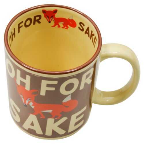 Funny Novelty Mug Retro Humour Coffee Cup Funky Cool Unique Gift for Him or Her
