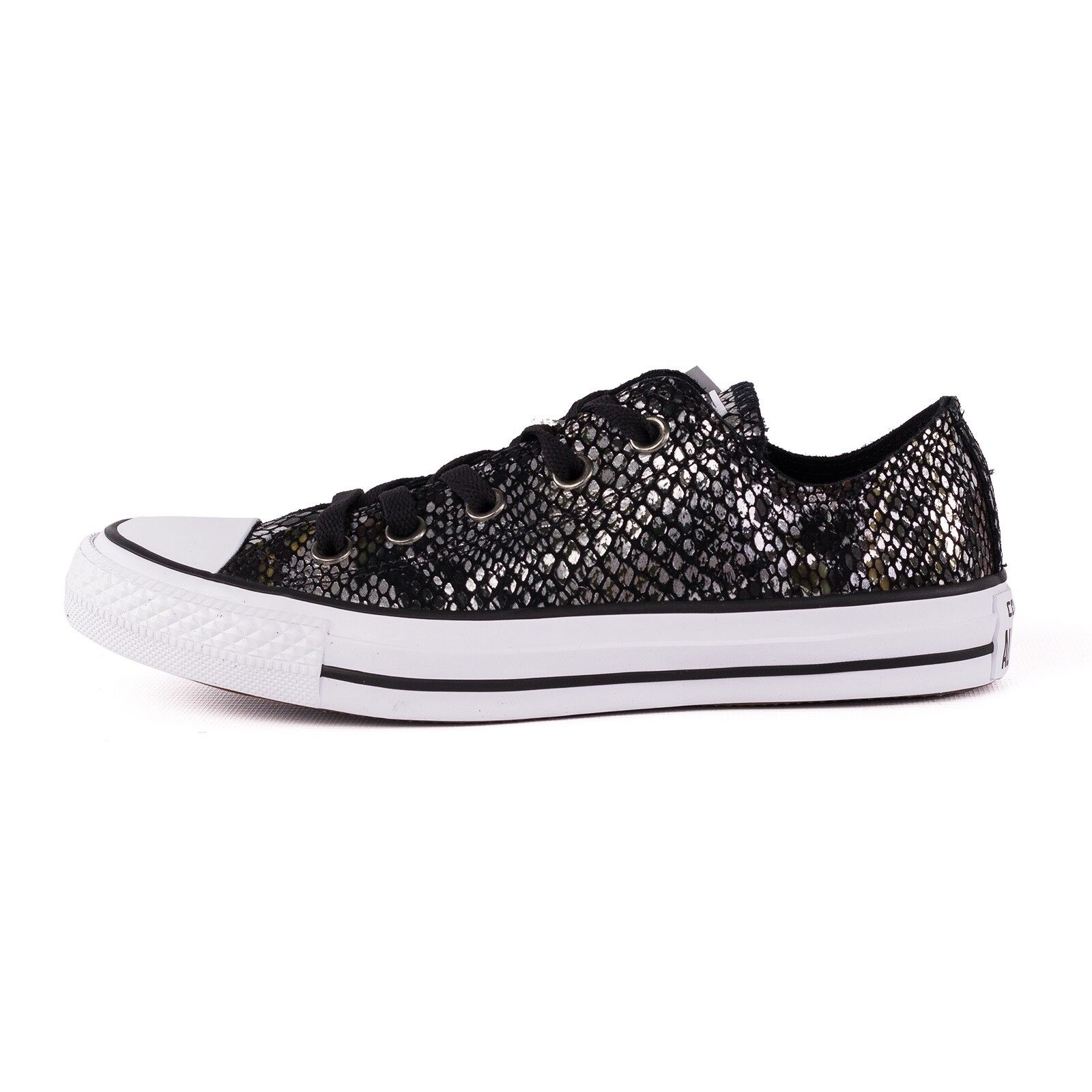Converse verres Ox Femmes Chaussure baskets Noir 51321