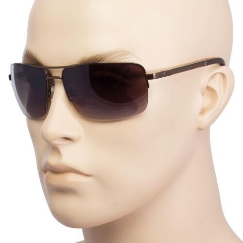 Classic Retro men Fashion Metal Pilot/'s Vintage Designer Sunglasses Black NEW