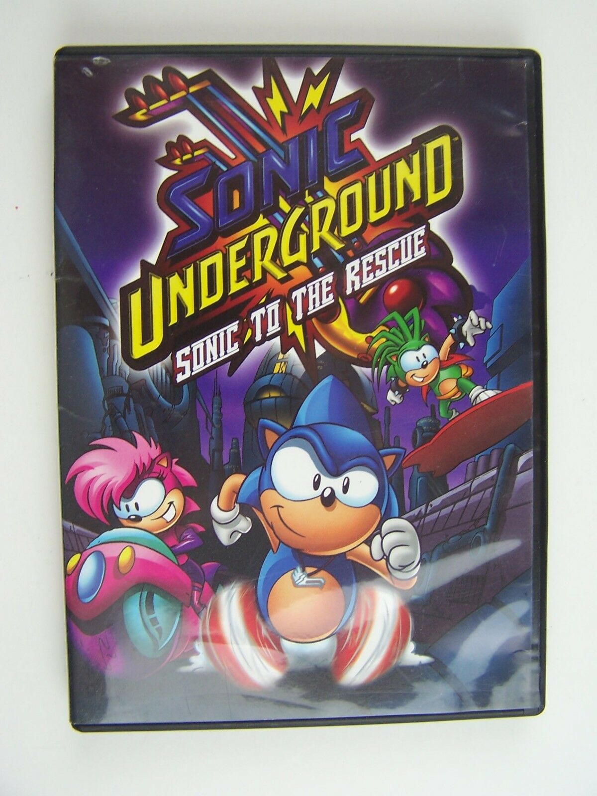 Sonic Underground: Sonic to the Rescue DVD 843501000465