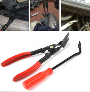 Car Door Card Panel Trim Clip Removal Uphostery Remove Pry Bar Tool Universal