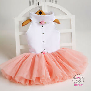 Flower-Lace-Party-Female-Cat-Dog-Dress-Clothing-For-Dogs-Pet-Teddy-Dog-Clothes