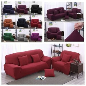 Housse-Canape-Spandex-Polyester-Lycra-Fini-1-4-Place-Sofa-Fauteuil-Extensible