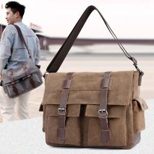 257d9a01a Image is loading Casual-Men-Canvas-Crossbody-Bags-Shoulder-Messenger-Bags-