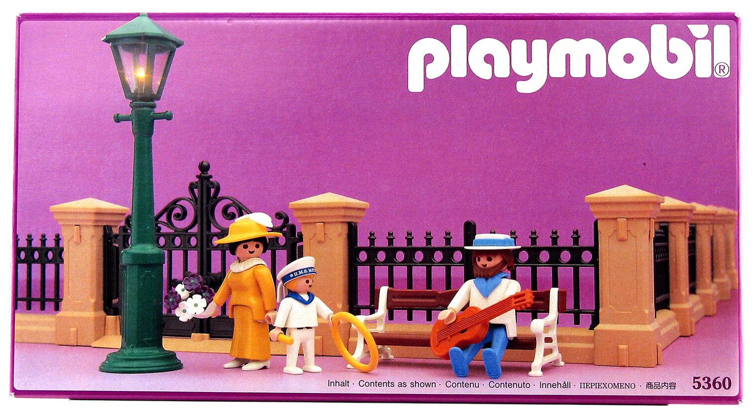 Playmobil 5360 Vintage Victorian Dollhouse Fencing - MISB RARE MINT CONDITION