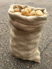 5 x 50kg Extra Large Hessiana iuta seme di patate verdure Caffè Deposito Sacchi-NUOVI