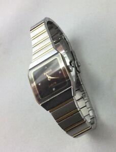 Armbanduhr Rado Jubile Damenuhr Zifferblatt 4 Diamanten Dau