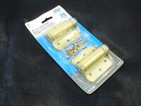 National Hardware N115-006 Adjustable Brass Spring Hinge 3 (pack Of 2)nib