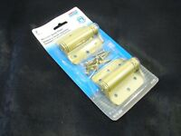 National Hardware N115-006 Adjustable Brass Spring Hinge 3 (pack Of 2)nib