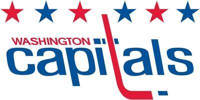 Washington Capitals Logo Vinyl Sticker Decal *SIZES* Cornhole Wall Car Bumper