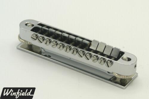 12-string Tune-O-Matic bridge made for Rickenbacker 660//12 or 1993Plus