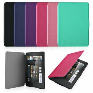 Details about Ultra Slim Magnetic Leather Smart Case Cover for Amazon  Kindle Paperwhite 1/2/3