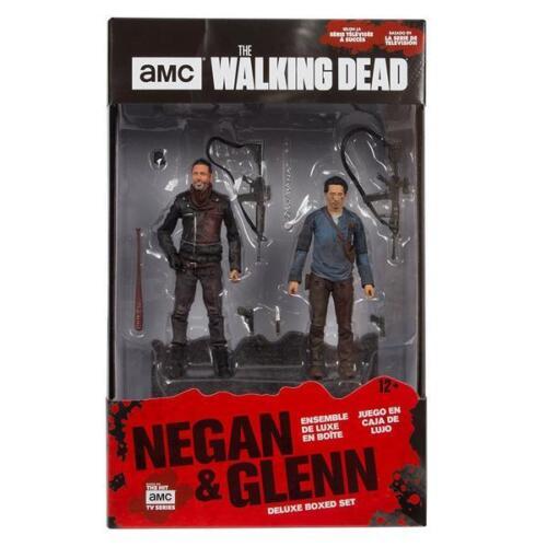 AMC/'s The Walking Dead negan et Glenn DELUXE BOX SET