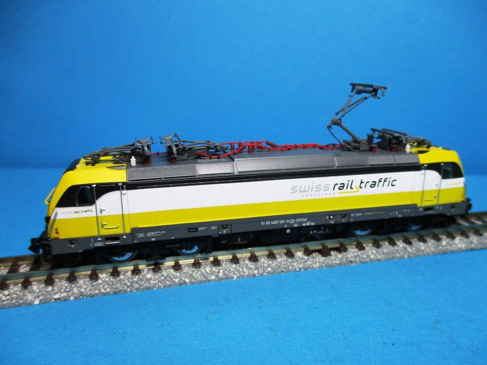 Arnold HN2341 Elektrolok BR 487 001 der Swiss Rail Traffic ,EP.VI,Neu,OVP,M1 160