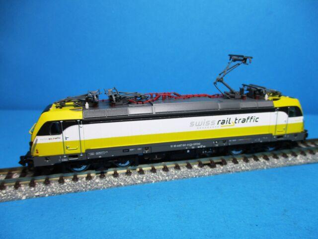Arnold HN2341 Elektrolok BR 487 001 der Swiss Rail Traffic ,EP.VI,Neu,OVP,M1:160