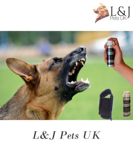 First Strike K9 Spray dog attack deterrent spray with pouch .