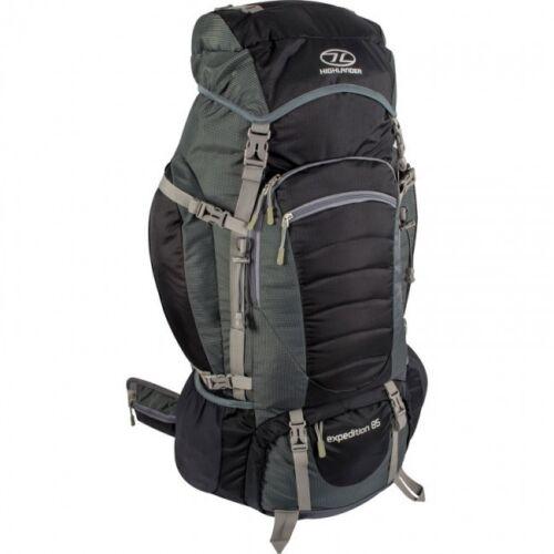 noir grande randonnée expedition camping sac à dos Neuf expedition 85 sac à dos-bleu