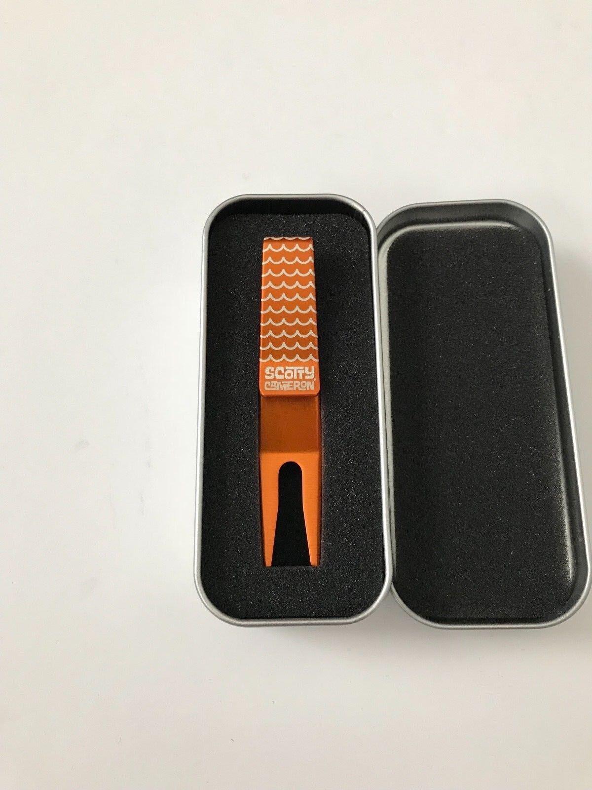 Scotty Cameron galería Onda Vibes Naranja Plata Clip Herramienta de pivote