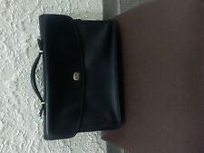 AUTHENTIC COACH black leather Lexington briefcase EUC--AUTHENTIC
