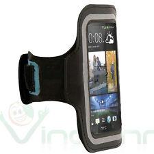 Armbrand banda brazo Deportes para HTC One M7 M8 M8s Estuche Negro