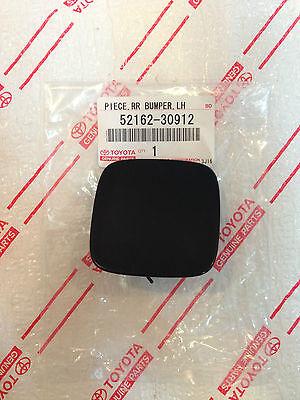 *NEW LEXUS GS300 GS430 GS350 GS450h FRONT BUMPER TOW HOOK COVER OEM CAP BLACK
