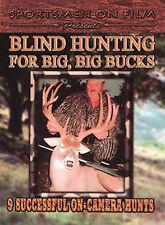 BLIND HUNTING FOR BIG, BIG BUCKS (Deer Hunting) DVD
