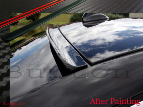 Unpainted JR2 For 2015-2019 CADILLAC CTS Rear Window Roof Spoiler