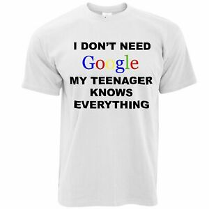 I Dont Need The Internet My Wife Knows E Funny Novelty T-Shirt Mens tee TShirt